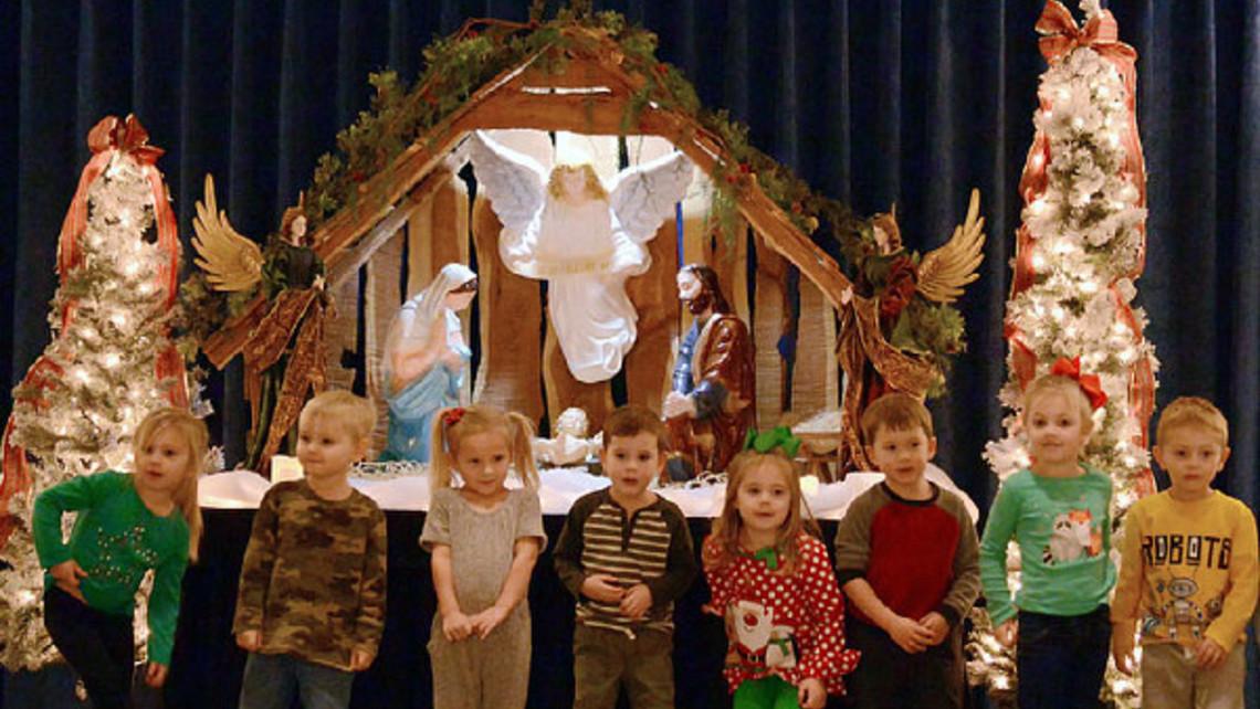 Capitol Nativity Scene