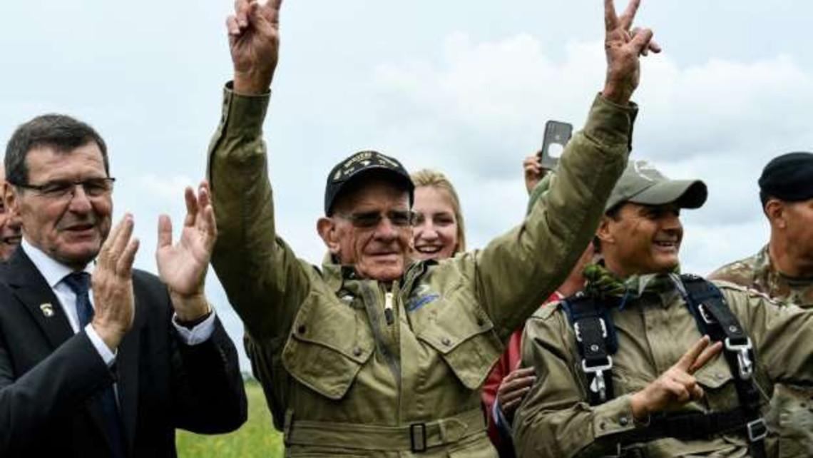 Normandy Paratrooper Veteran