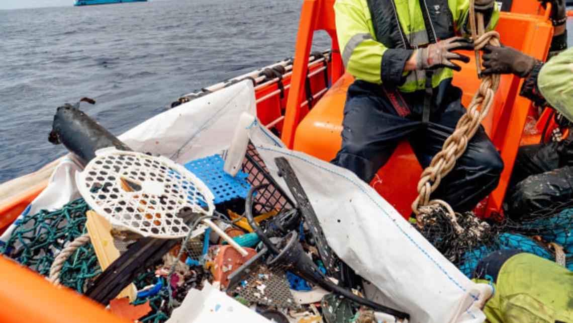 Ocean Cleanup Plastic