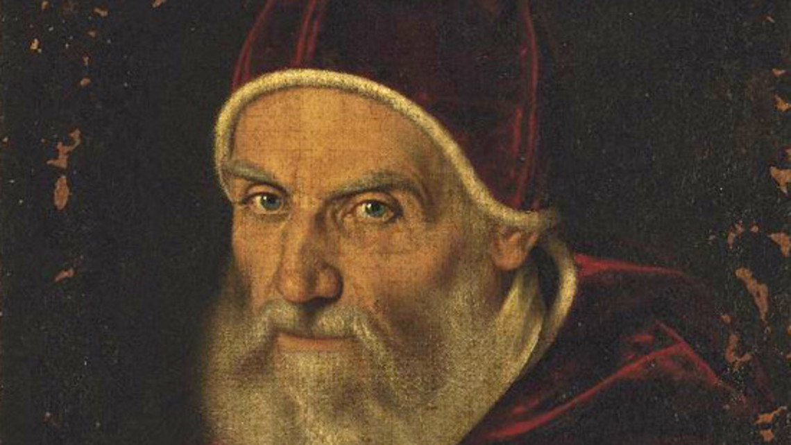 Pope Gregory Xiii Detail