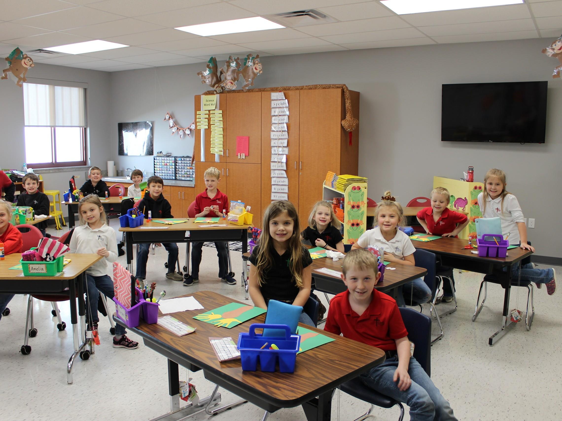 St. Eustachius classroom